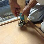 テーブルの脚つけ替え・カーテンレール取り付け ~神戸市須磨区~